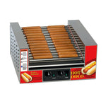 Slanted Hot Diggity Hot Dog Roller Grill