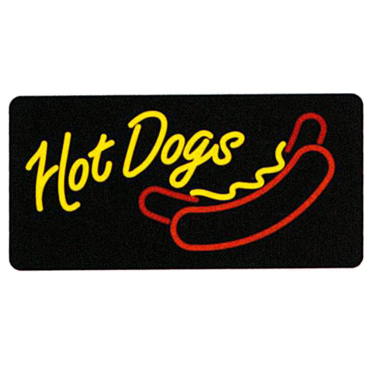 Hot Dogs Lighted Sign