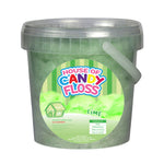 Small Lime Candy Floss Tubs 1L
