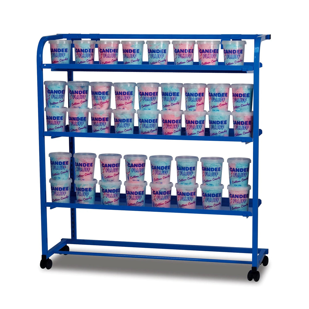 Mobile Display Rack