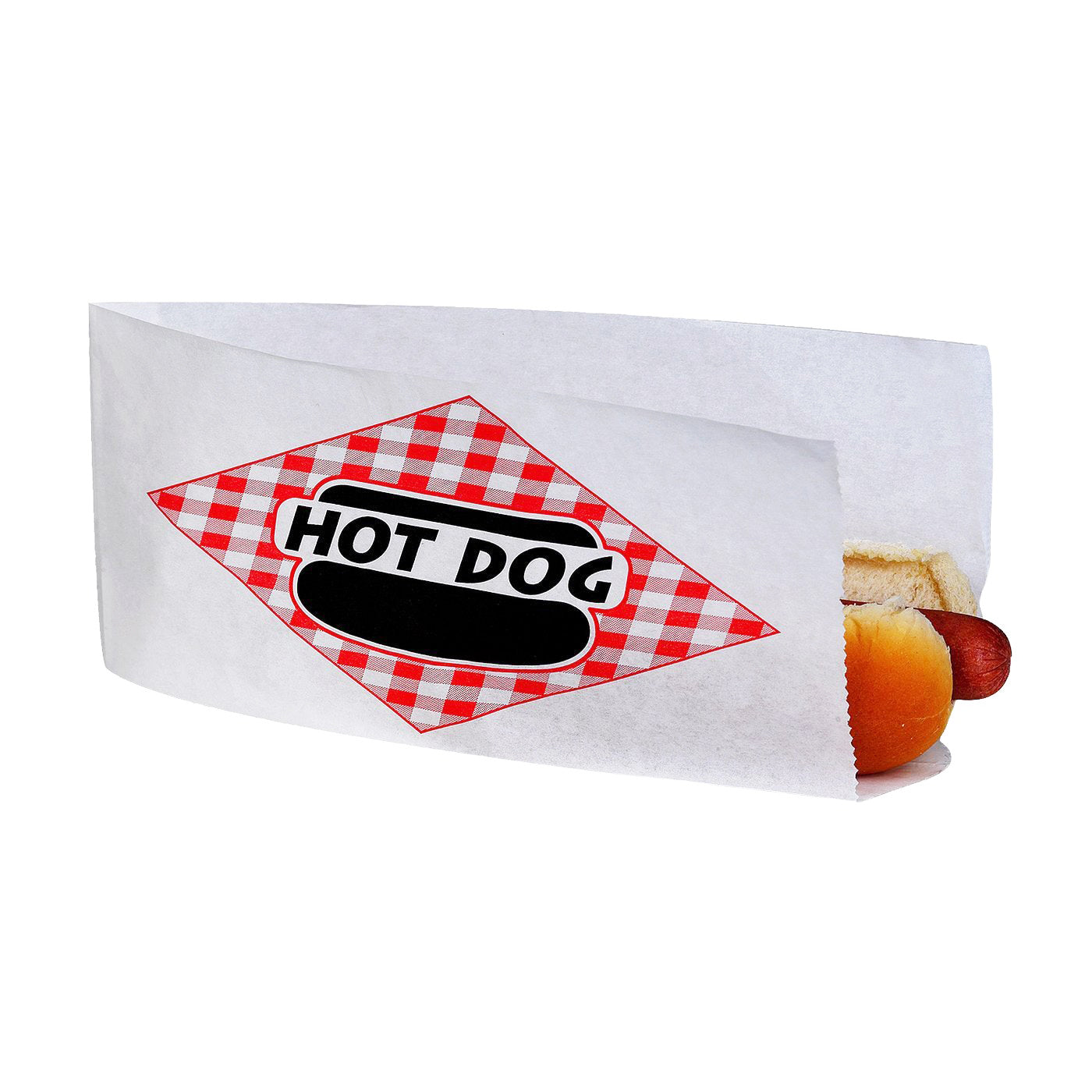 Open Top Hot Dog Bags