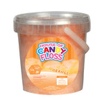 Small Orange Candy Floss Tubs 1L