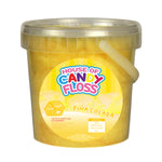 Small Piña Colada Candy Floss Tubs 1L