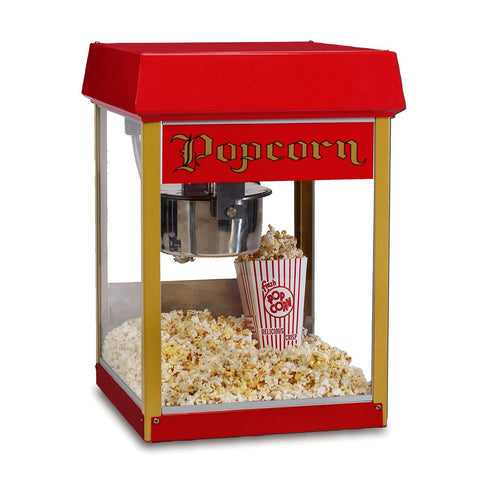 Red Fun Pop 4-oz. Popcorn Machine