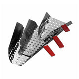 Large Perforated Popcorn Scoop