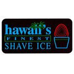 Shave Ice Lighted Sign