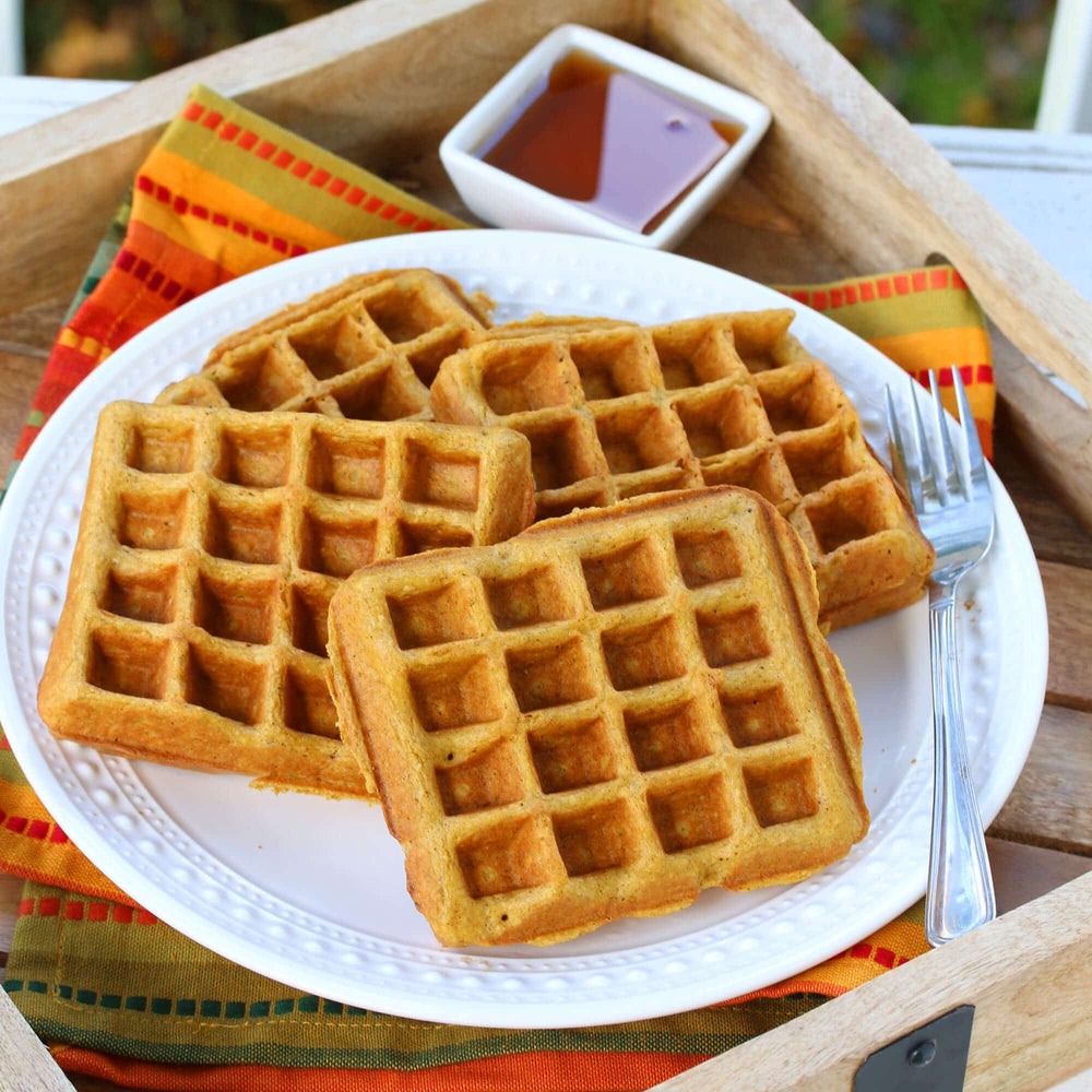 Four-Square Belgian Waffle Maker
