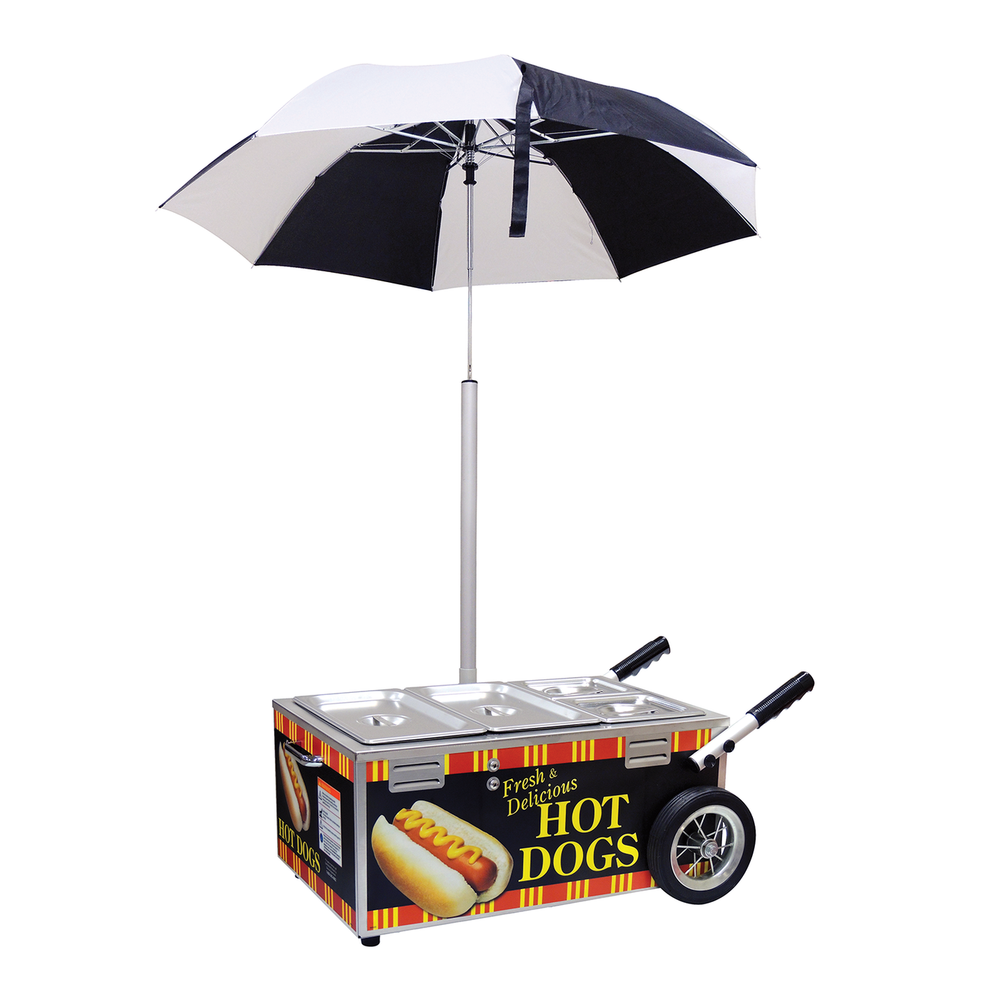 Hot Dog Steamer Cart