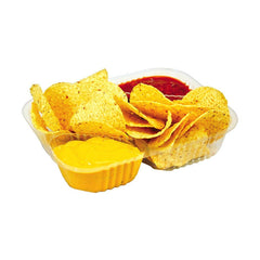 Three-Compartment Nacho Trays