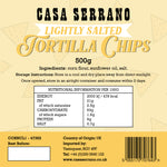 Lightly Salted Tortilla Chips 500g