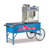 Two-Wheel Snow Cone Cart