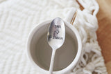 Your Texas is Showing™ Vintage Coffee Spoon from jessicaNdesigns™!
