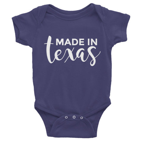 Made In Texas Infant One-Piece