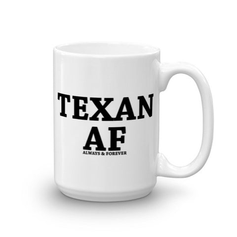 Always & Forever Texan Mug