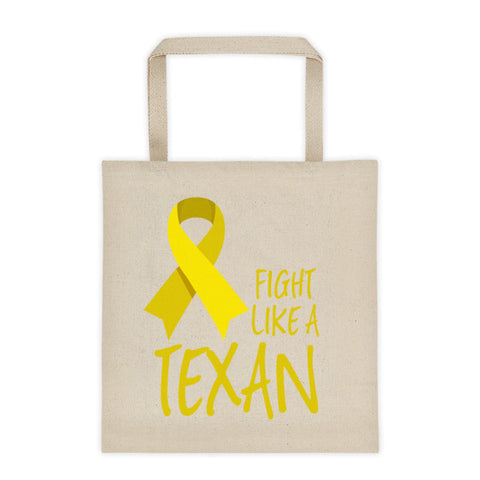Fight Like A Texan Tote Bag