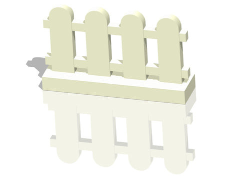 LEGO® 1X4X2 Fence Paled (Picket) (33303) x25