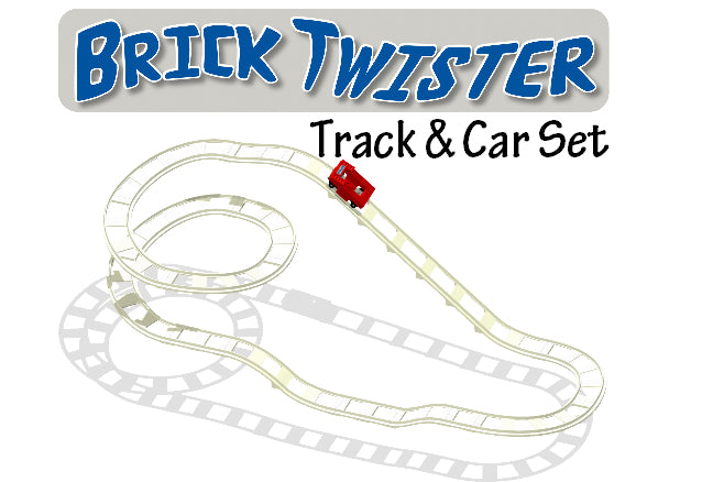 BrickCoaster Brick Twister Track LEGO