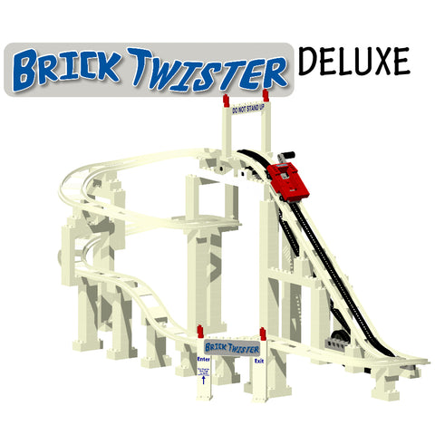 Brick Twister Deluxe Roller Coaster Set (BC507)