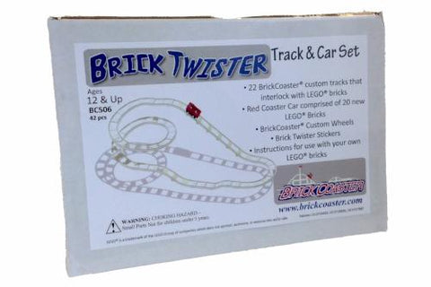BrickCoaster Brick Twister Track LEGO Box