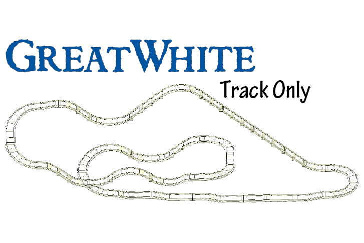 BrickCoaster Great White Track