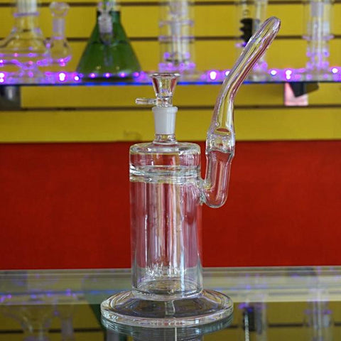 "12"" Wide Base Waterpipe With Hanging Perc."
