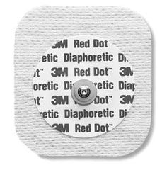 3M RED DOT DIAPHORETIC SOFT CLOTH MONITORING ELECTRODES