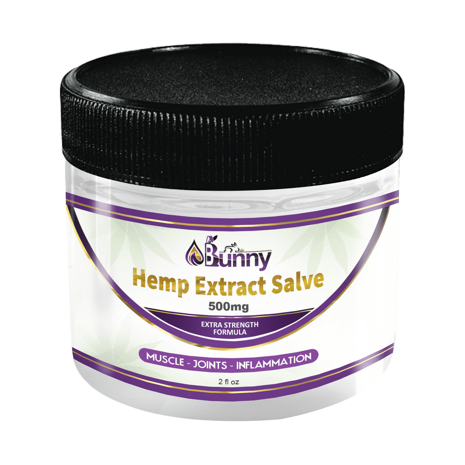 Hemp Extract Salve - 500mg