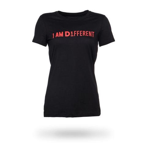 I AM D1FFERENT Women's Fitted T