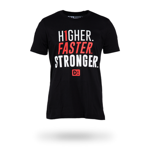 Higher Faster Stronger Men's Shirt
