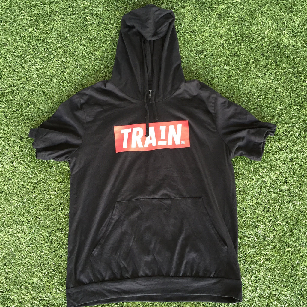 Men's TRA1N Hooded T-Shirt