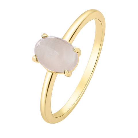 Ring Moonstone White