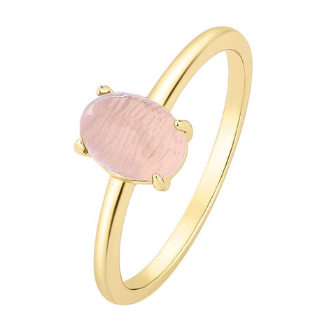 Ring Moonstone Pink