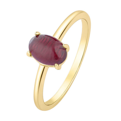 Ring Moonstone Red