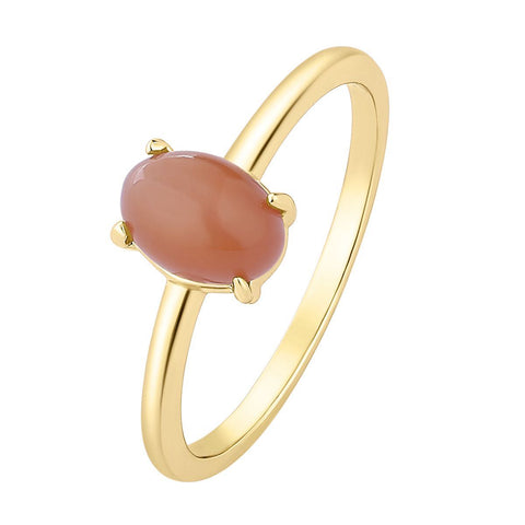 Ring Moonstone Orange