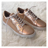 Shiny Rosé Sneakers