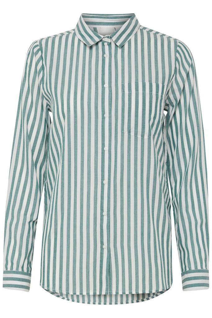 Striped Shirt - Green