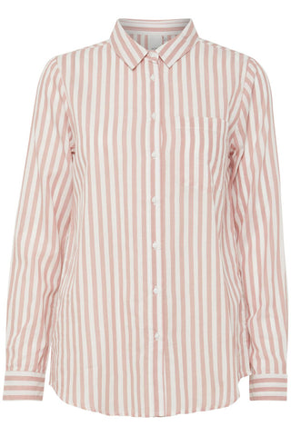 Striped Shirt - Old Rose