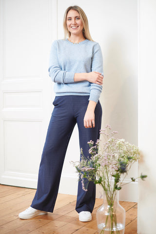 Viril Knit Ashley Blue