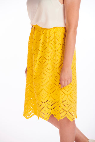 Sony Yellow Skirt