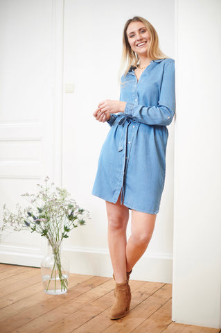 Vibista Denim Dress