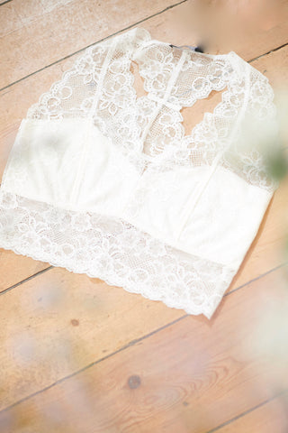 Dolly Bralette Antique White