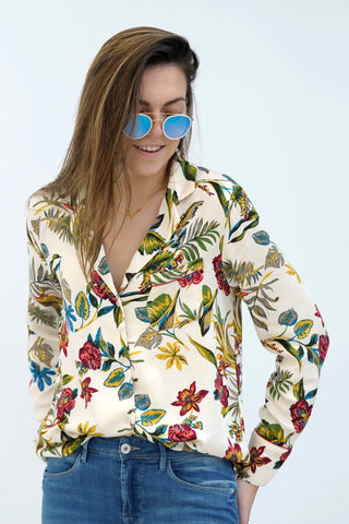 Tropical Flower Shirt