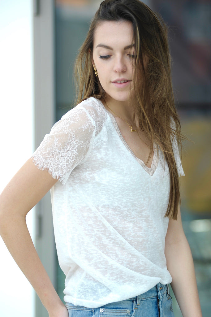 Romantic Lace T-shirt