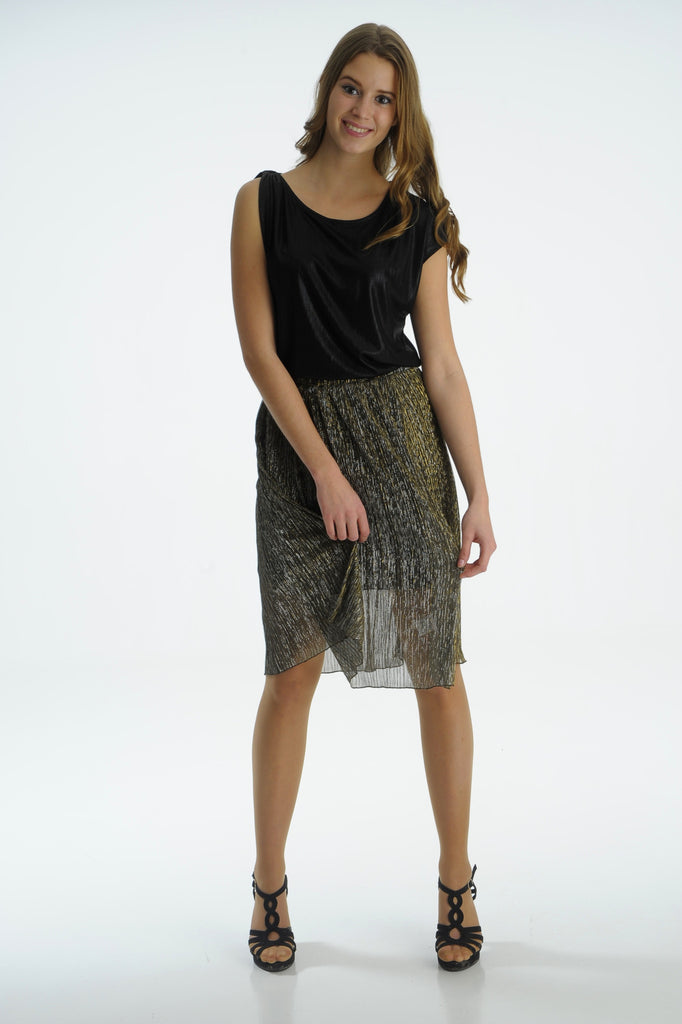 Black & Gold Skirt