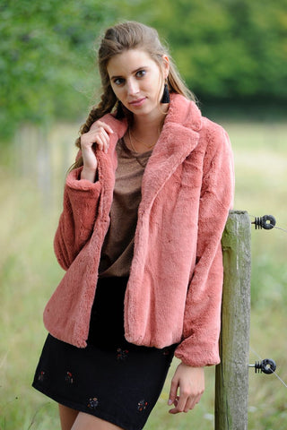 Teddy Jacket Pink