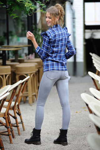 Light Grey Denim Pants
