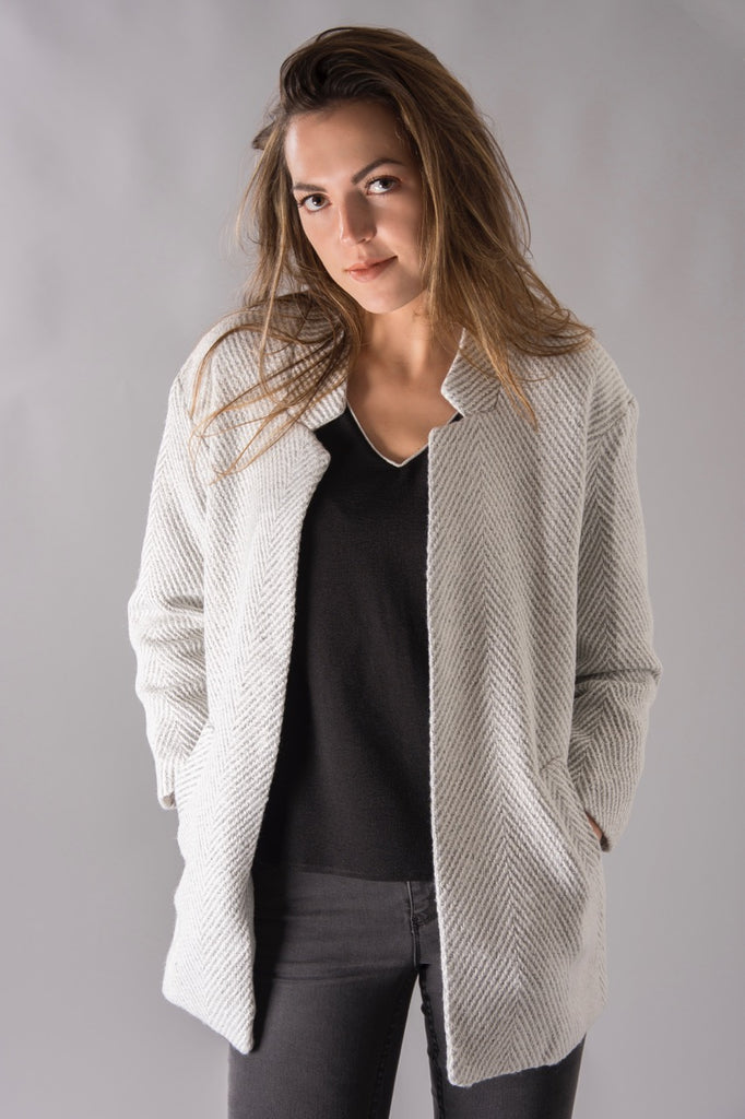 Light Grey Fall Coat