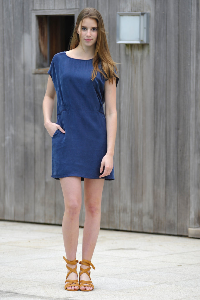 Summer Dress Navy