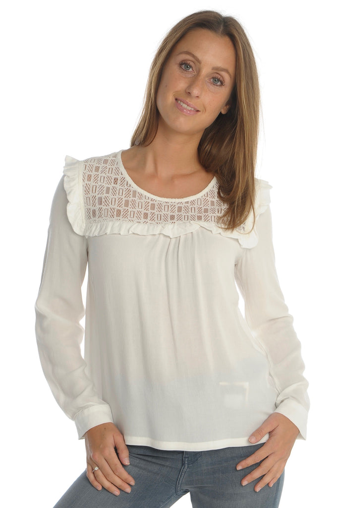 Ecru Lace Blouse