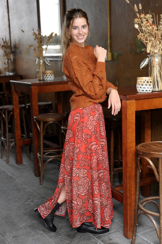 Tillie Skirt Red